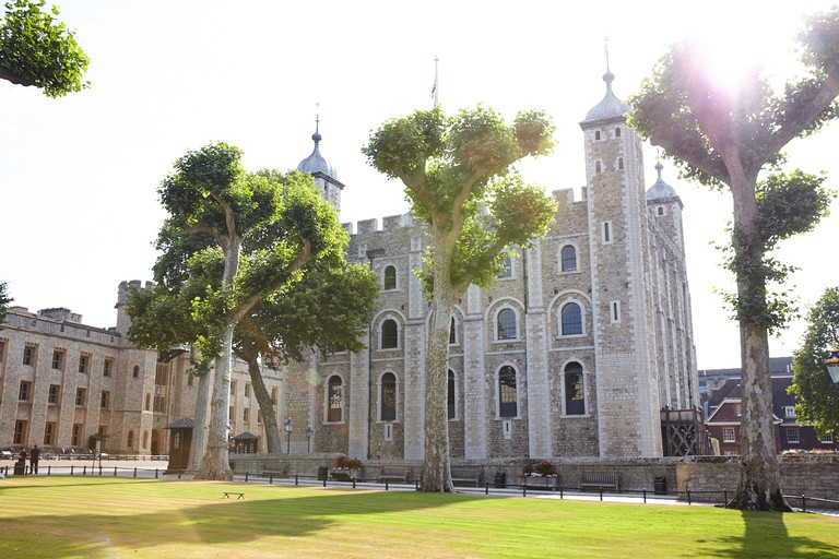 Exterior of White Tower