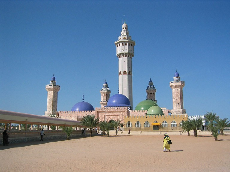 Touba's mosque is the largest in sub-Saharan Africa