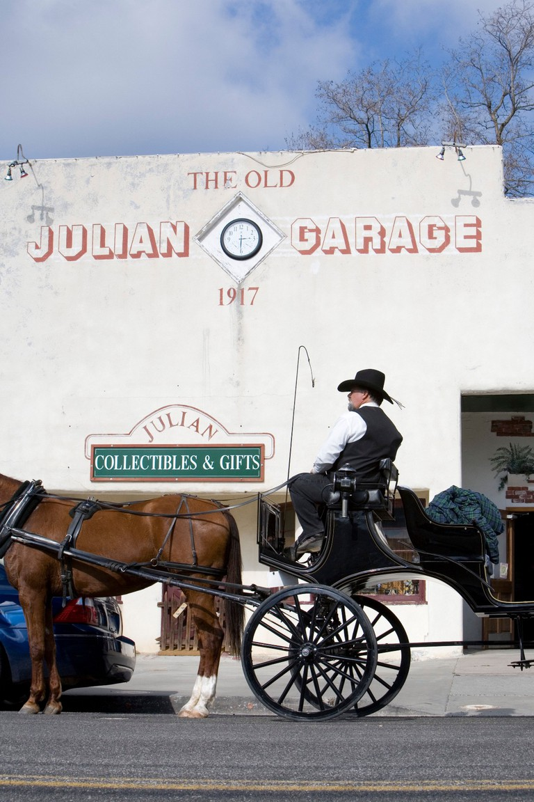 The Old Julian Garage