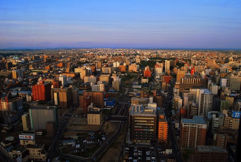 Sea of office skyscrapers in Y-san's city of Sendai | © ardiansyah michwan /Flickr