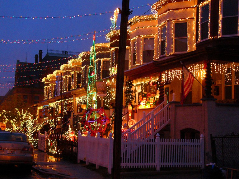 Miracle on 34th Street, Hampden, Baltimore, Maryland