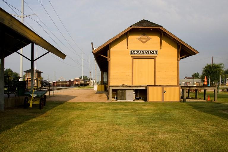 Railway Station, Grapevine, Texas, USA
