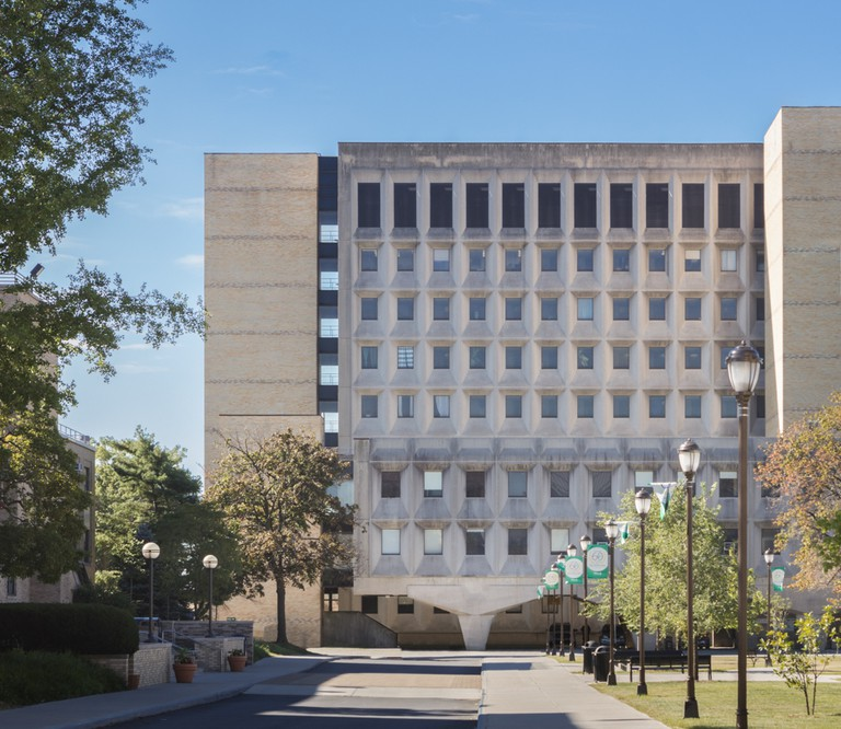 Bronx Community College, Bronx, NYC. Architect Marcel Breuer.