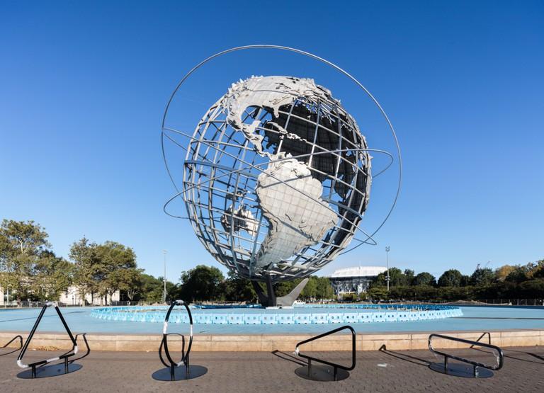 Unisphere, Queens, NYC. Architect Gilmore David Clarke