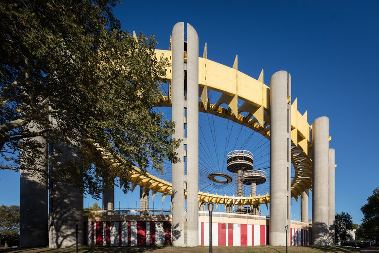 New York State Pavilion, Queens, NYC. Architect Philip Johnson.