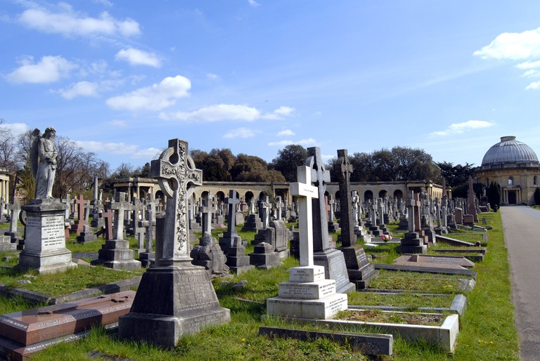 Old Brompton Cemetery, London.