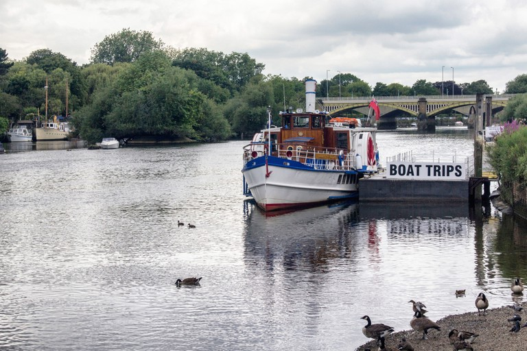 Turks Launches runs boat trips on the River Thames in Summer