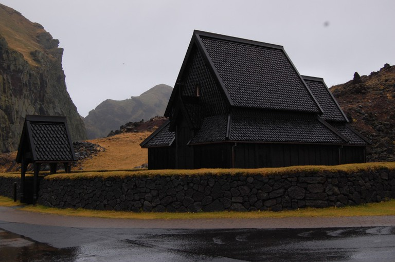 Stave Church in Westman Islands
