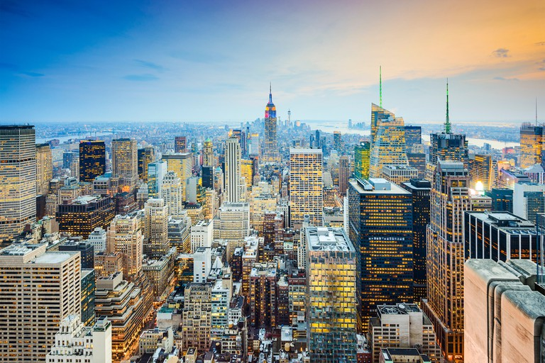 Midtown Manhattan offers a skyline to rival any in the world