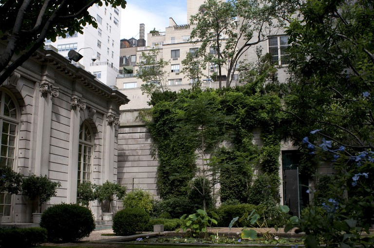 Frick Collection an art museum located in Manhattan, New York, USA.