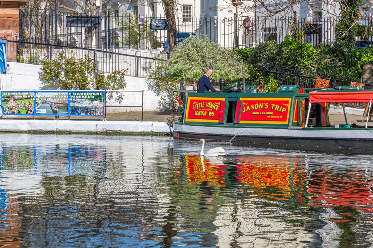 Jason's Canal Trip narrow boat Little Venice, London.