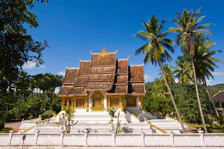 The Royal Chapel in Luang Prabang, Laos