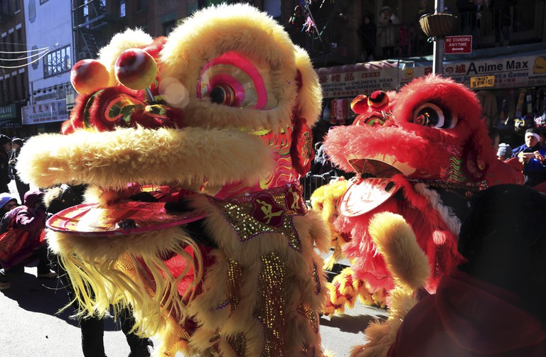Revelers can ring in the Chinese New Year in Sara D Roosevelt Park