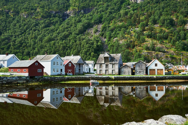 Laerdal, Norway.