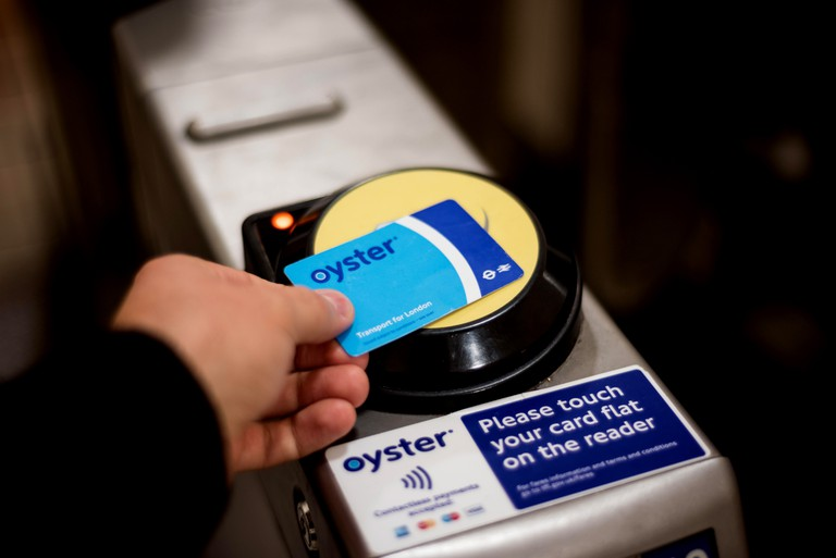 London, Oyster card