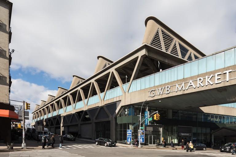 George Washington Bus Station, Washington Heights. Architect Pier Luigi Nervi.
