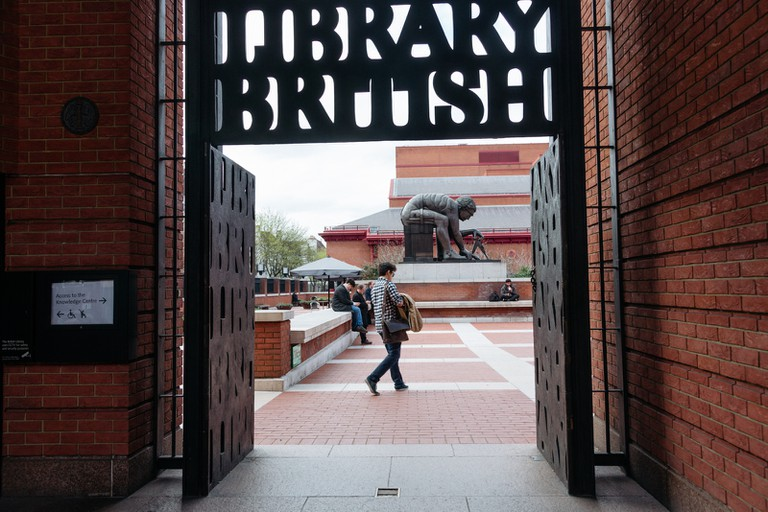 British Library, Kings Cross, London