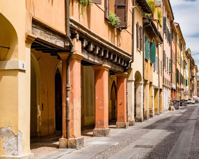 Downtown Bologna. Emilia-Romagna, Italy.