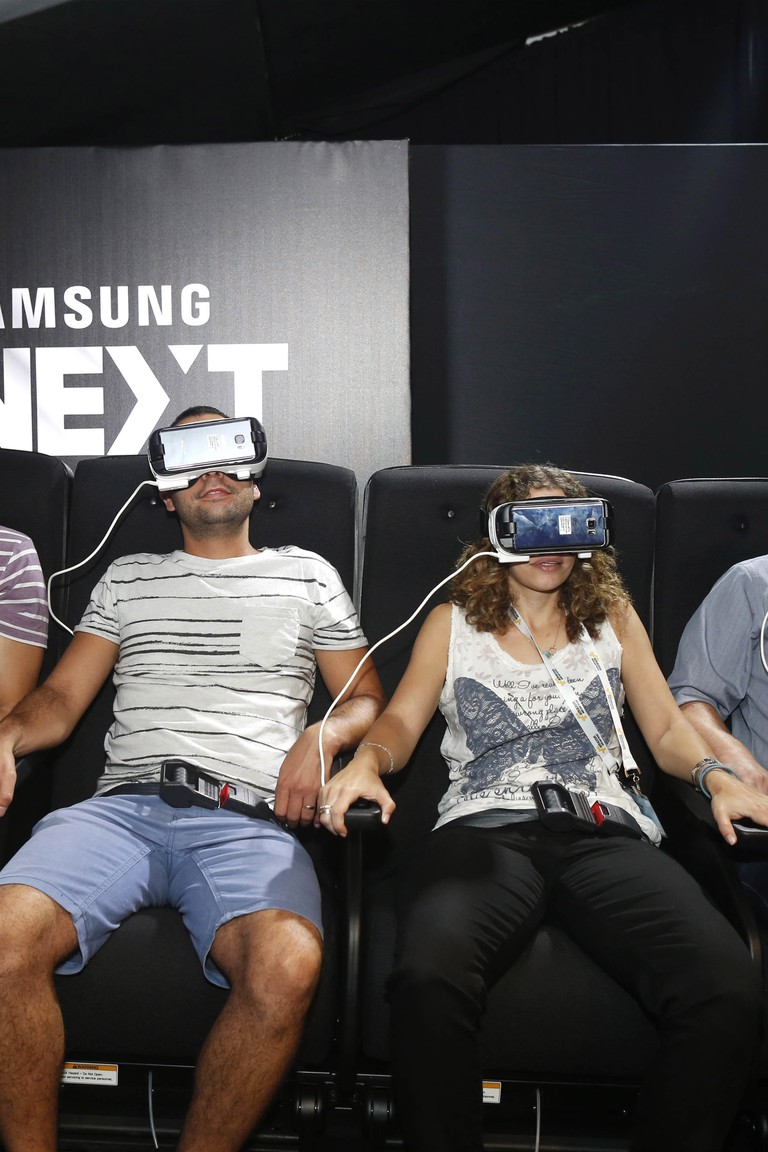 Virtual reality is the next big thing for many Israeli start-ups