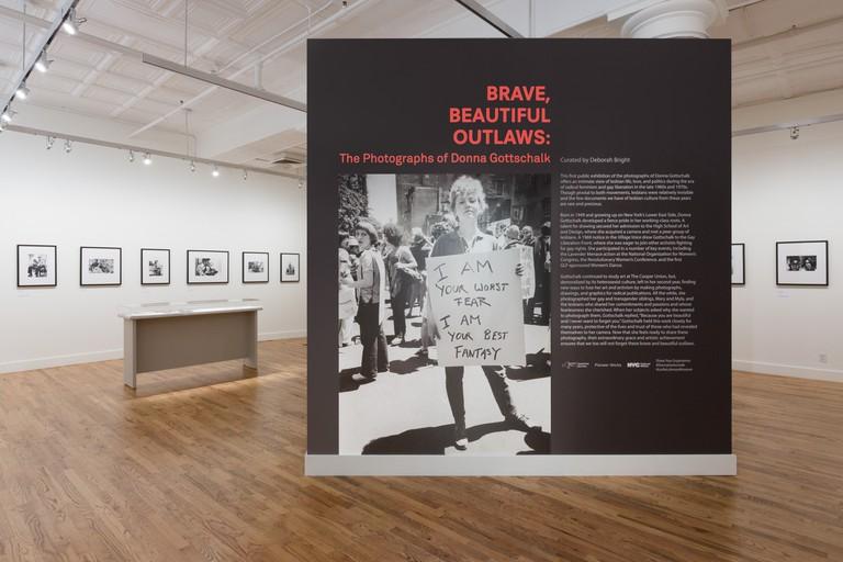 Leslie-Lohman Museum, Gottschalk installation, Soho, New York City, USA.