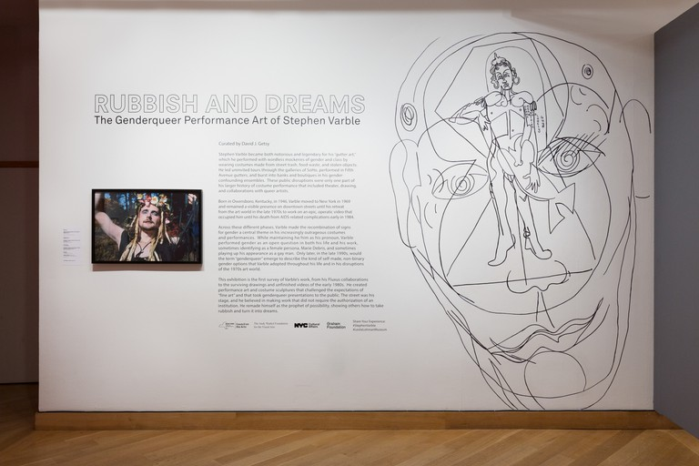 Leslie-Lohman Museum, Varble Installation, Soho, New York, USA.