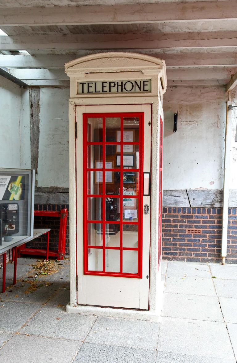 A rare 1929 K3 phone box