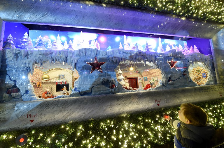 Macy's Herald Square unveils the 2018 edition of its legendary Christmas windows