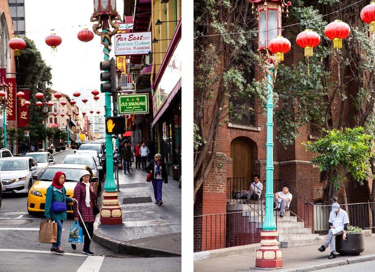 Chinatown's signature architecture was the vision of early-20th-century businessman Look Tin Eli