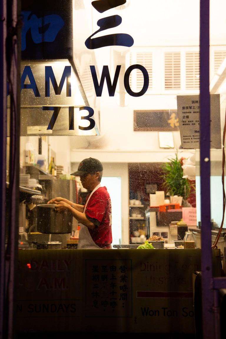 Sam Wo, a renowned restaurant in Chinatown, has been around since 1907