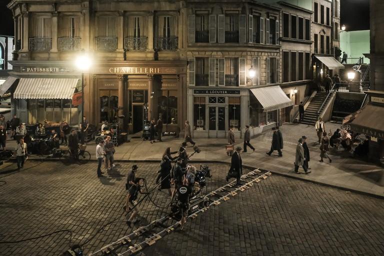 'The Crimes of Grindelwald' set, Leavesden, England