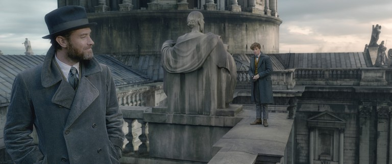 Jude Law, Dumbledore, The Crimes of Grindelwald