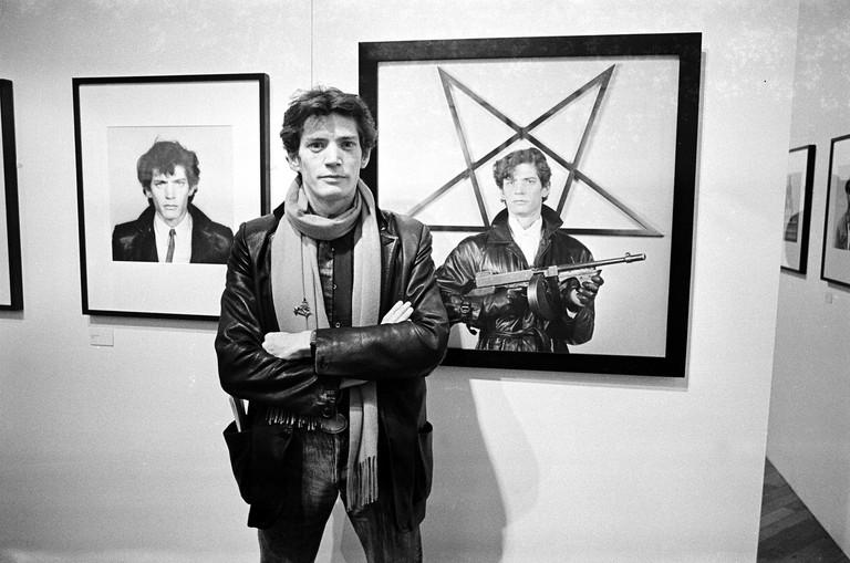 Robert Mapplethorpe exhibition at the ICA, London, November 1983
