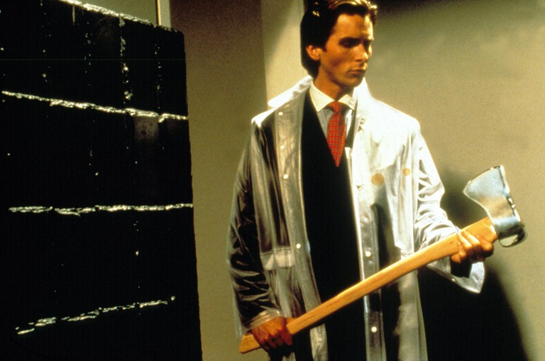 "Christian Bale in ""American Psycho"""