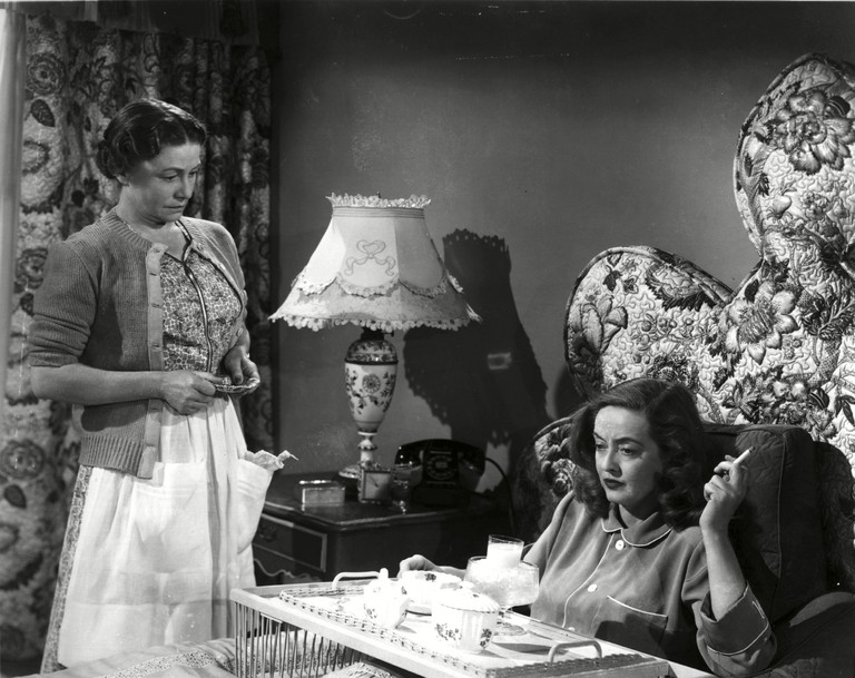 "Thelma Ritter and Bette Davis in ""All About Eve"""