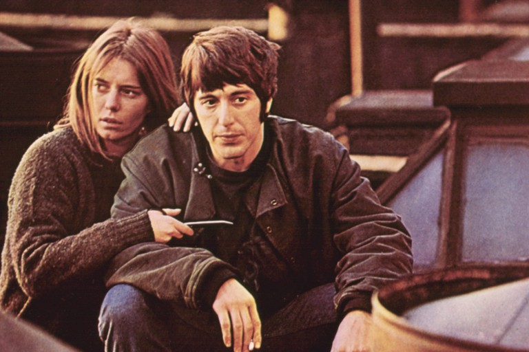 Kitty Winn and Al Pacino in The Panic In Needle Park.