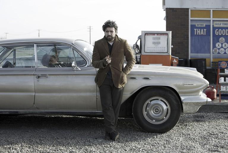 Oscar Isaac in Inside Llewyn Davis - 2014.