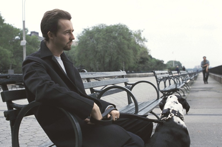 "Edward Norton in ""25th Hour"""