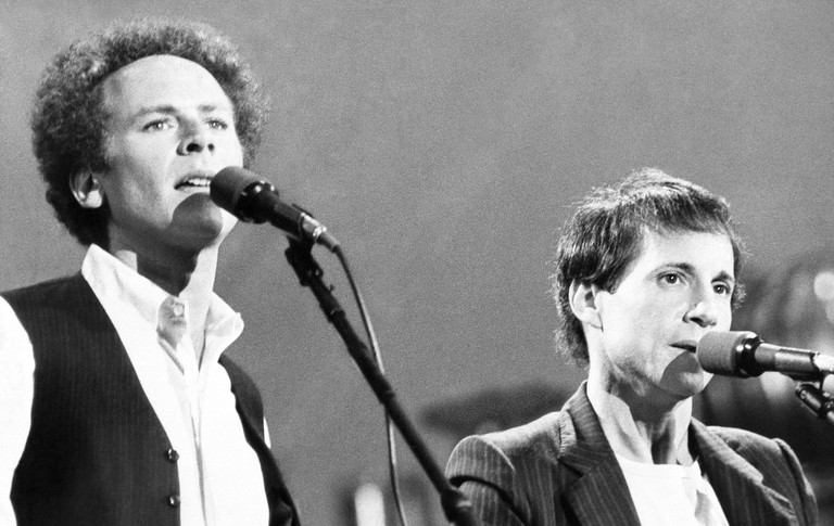 Simon And Garfunkel 1981, New York, USA