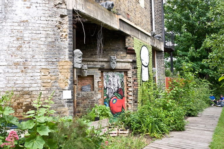Dalston Eastern Curve Garden is the go-to place to relax
