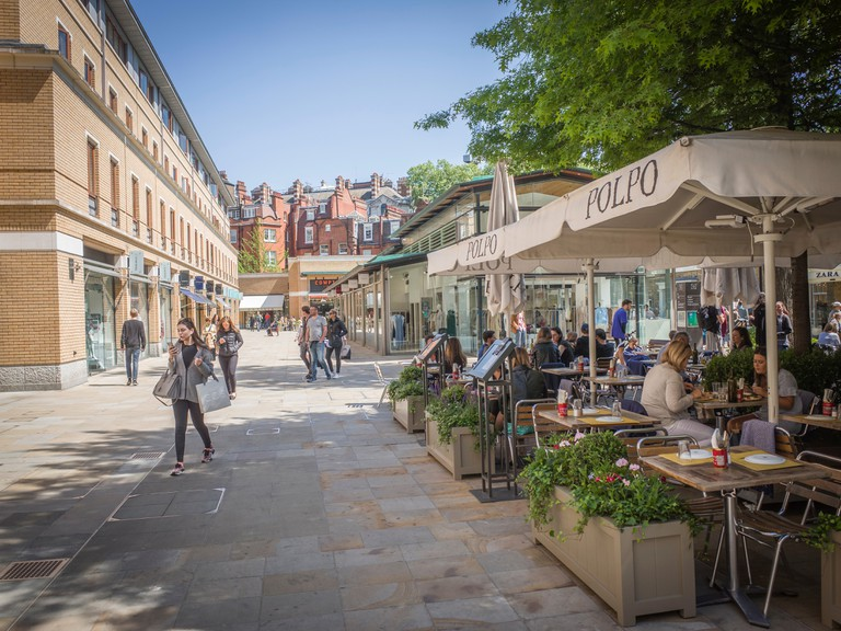 Spend the day exploring the shops surrounding the Duke of York Square