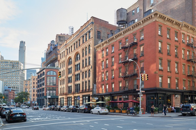 The name Tribeca comes from 'triangle below Canal Street'