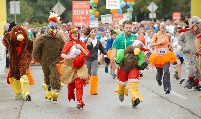 ThunderCloud has raised nearly $3.5 million for Caritas of Austin through the ThunderCloud Subs Turkey Trot.