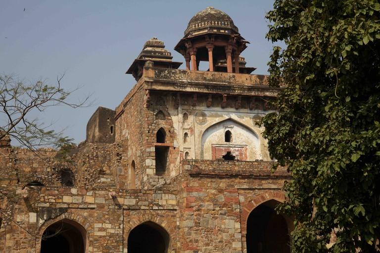 The Purana Qila complex in New Delhi