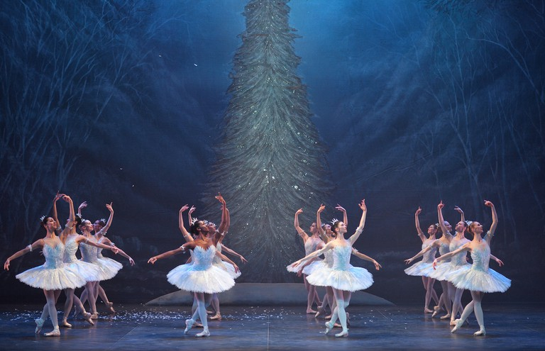 The 'Waltz of the Snowflakes' closes the ballet's first act