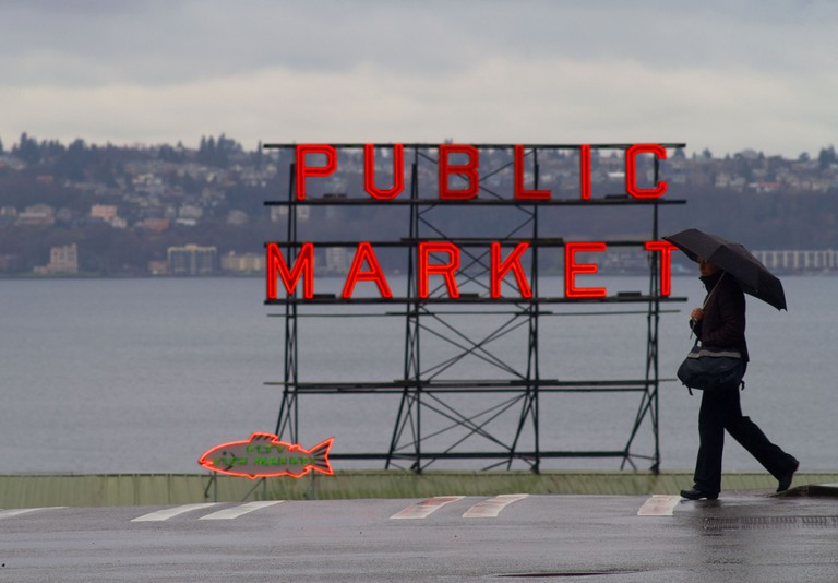 Seattle is one of the rainiest cities in the US
