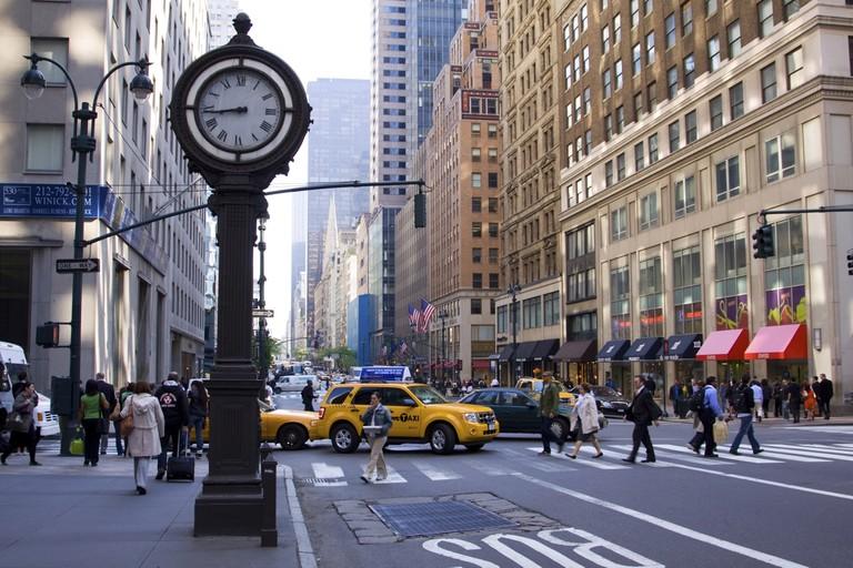 5th Avenue, New York City, Manhattan, USA. Image shot 05/2009. Exact date unknown.