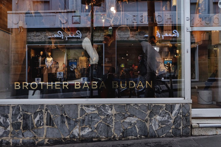 Exterior of Brother Baba Budan