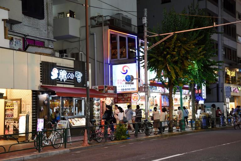 Korean town,Shin Okubo,Shinjuku,Tokyo,Japan