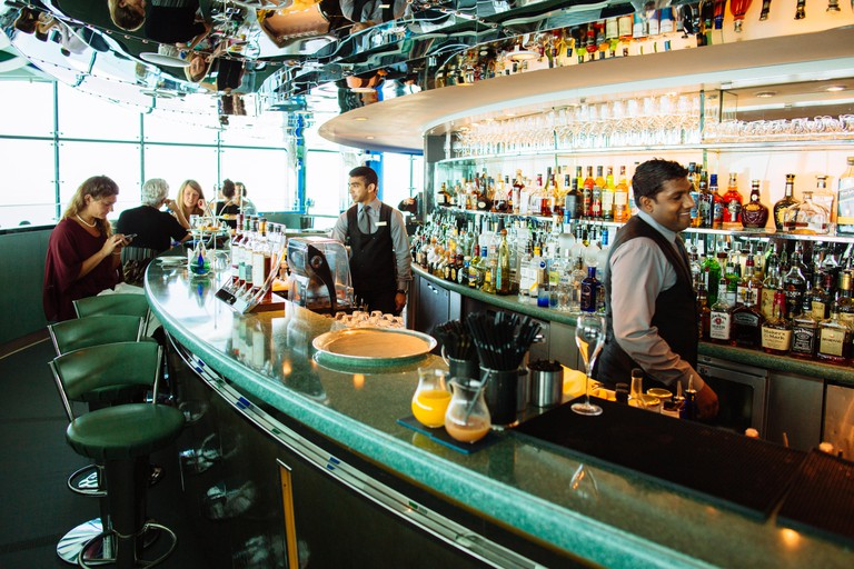 Skyview Bar Bartenders in Burj Al Arab Hotel Jumeira, Dubai, UAE