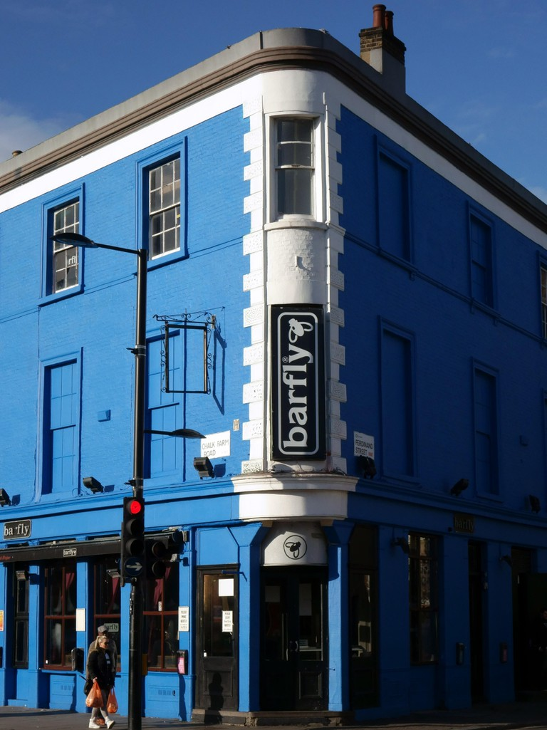 Barfly live music venue and club, Camden Town, London. Image shot 2014. Exact date unknown.